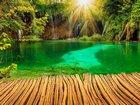 Plitvice Gölü