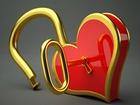 3 Boyutlu Kalp ve Anahtar