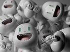 3D-Gülümseyen Bebekler