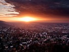 Almanya'da Gün Batımı Yapboz