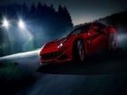 Ateş Kırmızısı Ferrari Yapbozu