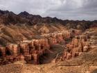 Charyn Kanyonu-Kazakistan Yapbozu