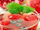 Çilekli ve Naneli Meyve Çayı