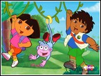 Dora ve Diego Yapbozu