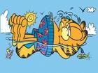 Garfield Denizde Yapbozu