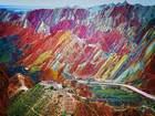 Gökkuşağı Dağları, Çin