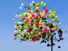 Gökyüzüne Yükselen Balonlar