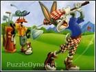 Golfcü Bugs Bunny Yapboz