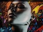 Grafiti Çalışması:Duvardaki Kız