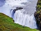 Gullfoss Şelalelsi-İzlanda