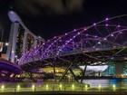 Helix Köprüsü,Singapur Yapbozu