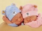 İkiz Bebekler Yapbozu 100 Parça