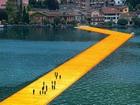 İseo Gölü Yüzen Köprü