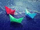 Kağıttan Kayıklar ve Yağmur