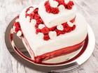 Kalp Şeklinde Muhteşem Pasta