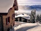 Karlı Dağ Evi Yapboz