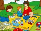Kayu ve Ailesi Piknikte