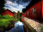 Kırmızı Evler Yapbozu
