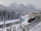 Kış ve Tren Yolculuğu Yapbozu