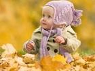 Kurumuş Yapraklar Arasındaki Çocuk Yapbozu