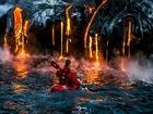 Lavların Arasında Rafting Heyecanı Yapbozu