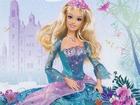 Mavi Elbiseli Barbie