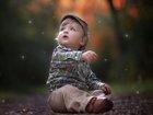 Mavi Gözlü Tatlı Çocuk