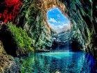Melissani Mağarası, Yunanistan