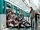 Metrodaki Kalabalık Yapbozu