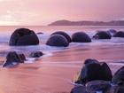 Moeraki Kayaları-Yeni Zelanda Yapbozu