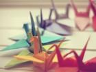 Origami Sanatı Kuğular Yapbozu