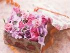 Pembe Çiçek Sepeti Yapbozu