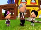 Pepee ve Zuzu Folklor Öğreniyor