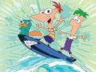 Phineas ve Ferb Surf Yapıyor Yapbozu