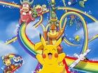 Pikachu Gökkuşağı Kaydırağında