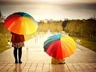 Renkli Şemsiyeler Yapbozu