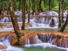 Tad Sae Şelaleleri-Laos