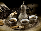 Tarçınlı Kahve ve Lokum Yapbozu