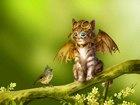 Uçmak İsteyen Kedi Yapbozu