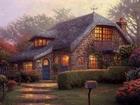 Yağlı Boya Çalışması-Taştan Ev